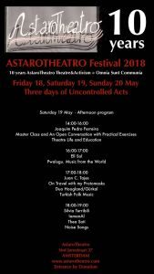 Saturday 19 May Afternoon Program