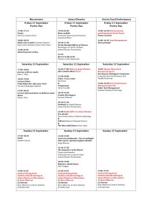 Inter.Nos Program Schedule-1