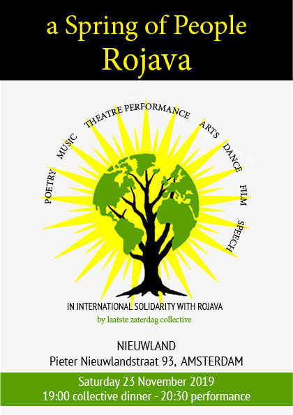 flyer for Rojava without name